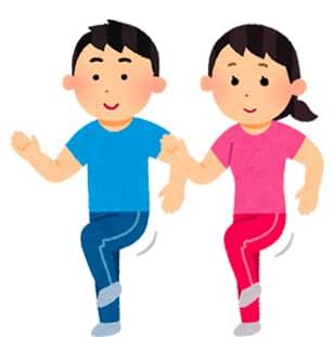 足踏み運動