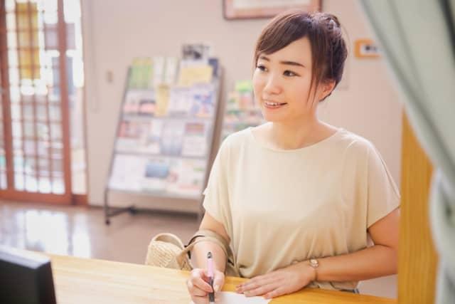 広島メディカル整体院 受付のイメージ